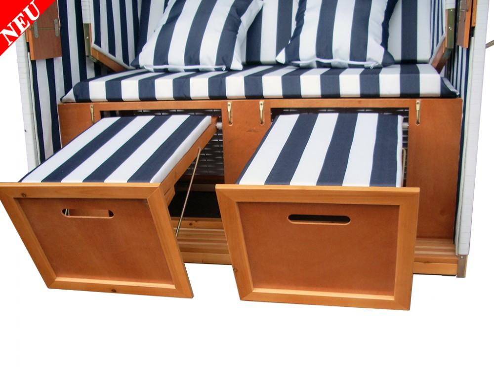 wei blauer strandkorb schutzh lle g nstig kaufen ostsee. Black Bedroom Furniture Sets. Home Design Ideas