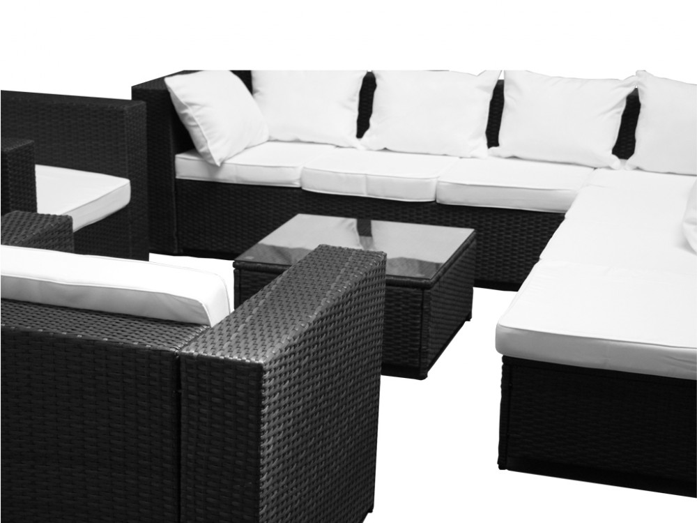 xxxl 26tlg lounge set g nstig 2x 1er lounge sessel. Black Bedroom Furniture Sets. Home Design Ideas