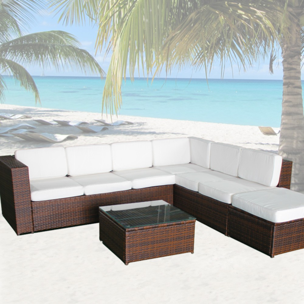 xinro loungem bel set xinro polyrattan loungeset 19tlg. Black Bedroom Furniture Sets. Home Design Ideas