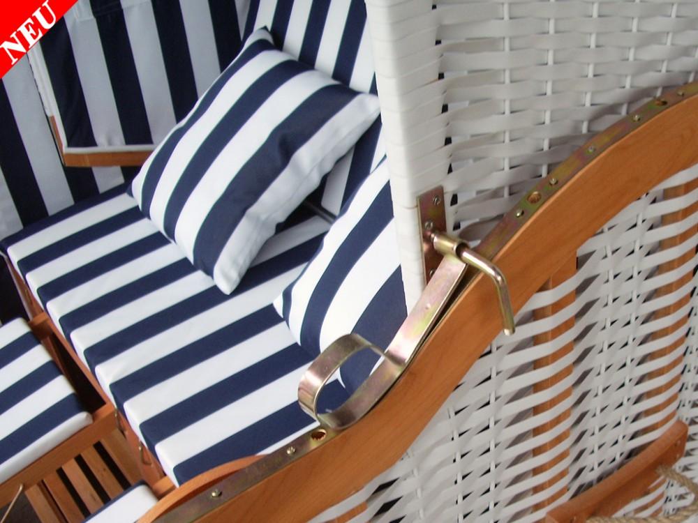 wei blauer strandkorb schutzh lle g nstig kaufen ostsee strandkorb. Black Bedroom Furniture Sets. Home Design Ideas
