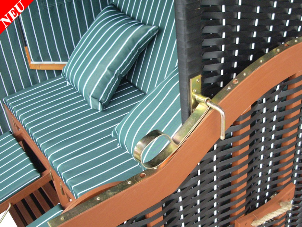 classik strandkorb gr n fein winterfeste strandkorbh lle ostsee strandkorb. Black Bedroom Furniture Sets. Home Design Ideas