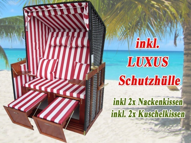 strandkorb nordsee schutzh lle rot dunkelbraun nordsee strandkorb. Black Bedroom Furniture Sets. Home Design Ideas