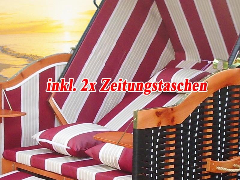 ostsee strandkorb rot inkl schutzh lle ostsee strandkorb. Black Bedroom Furniture Sets. Home Design Ideas
